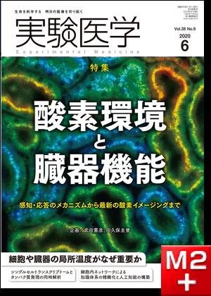 実験医学2020年6月号 Vol.38 No.9 酸素環境と臓器機能  感知・応答のメカニズムから最新の酸素イメージングまで