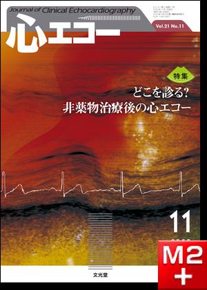 心エコー  2020年11月号(21巻11号)どこを診る?非薬物治療後の心エコー