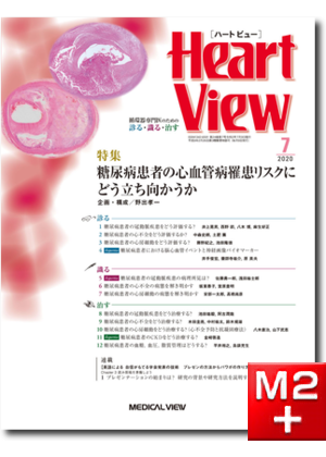 Heart View 2020年7月号 Vol.24 No.7 糖尿病患者の心血管病罹患リスクにどう立ち向かうか
