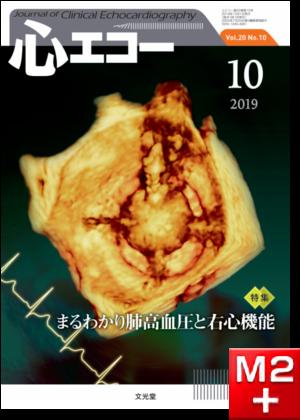 心エコー 2019年10月号(20巻10号)まるわかり肺高血圧と右心機能