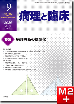 病理と臨床  2020年9月号(38巻9号) 病理診断の標準化