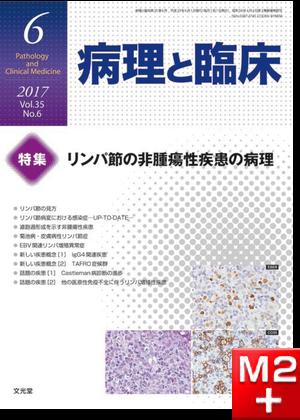 病理と臨床 2017年 6月号(35巻6号)リンパ節の非腫瘍性疾患の病理