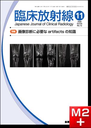 臨床放射線 2020年11月号 65巻12号 特集 画像診断に必要なartifactsの知識【電子版】